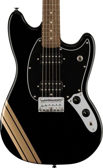 Fender Squier FSR Bullet Mustang HH BPG Competition Black