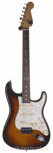 Fender Magnificent 7 American Elite Stratocaster, Flame Top Sunburst with Case (pre-owned)
