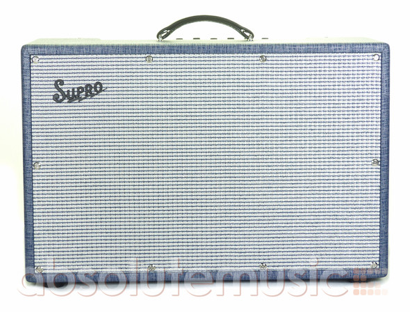 Supro 1685RT Neptune Reverb Valve Electric Guitar Combo with Cover (pre-owned)