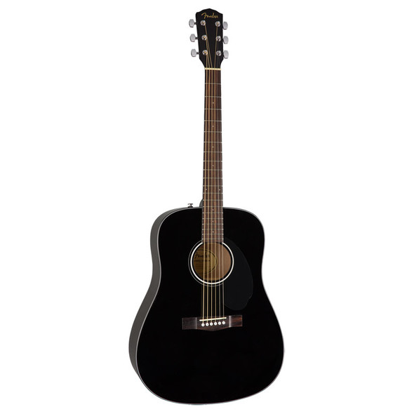 Fender CD-60S Acoustic Guitar, Black   (b-stock)