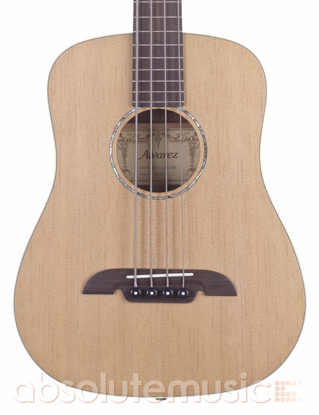 Alvarez MSB1 Electro-Acoustic Bass Guitar with Gig Bag (pre-owned)