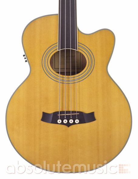 Tanglewood TW55A Fretless Electro-Acoustic Bass with Gig Bag (pre-owned)