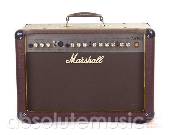 Marshall AS50D 50 Watt Acoustic Instrument Amplifier (pre-owned)