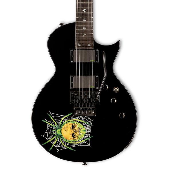 ESP Ltd 30th Anniversary Kirk Hammett KH-3 Spider Electric Guitar, Black