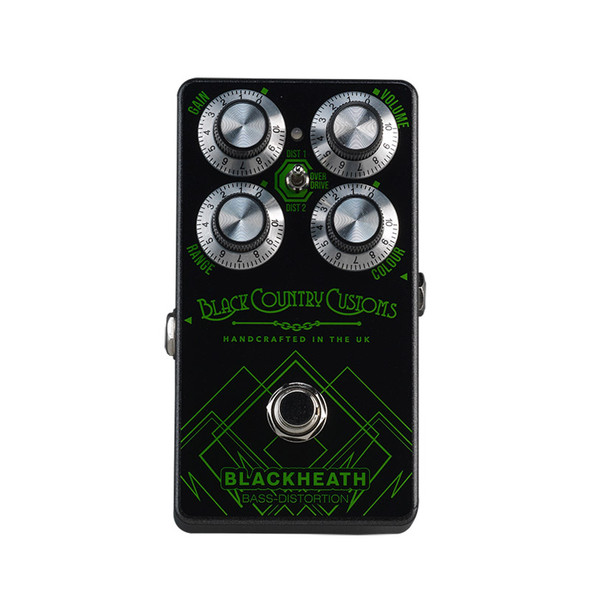 Black Country Customs by Laney Blackheath Bass Distortion Pedal