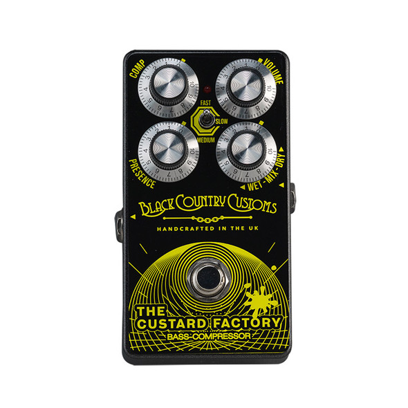 Black Country Customs by Laney The Custard Factory Bass Compressor Pedal