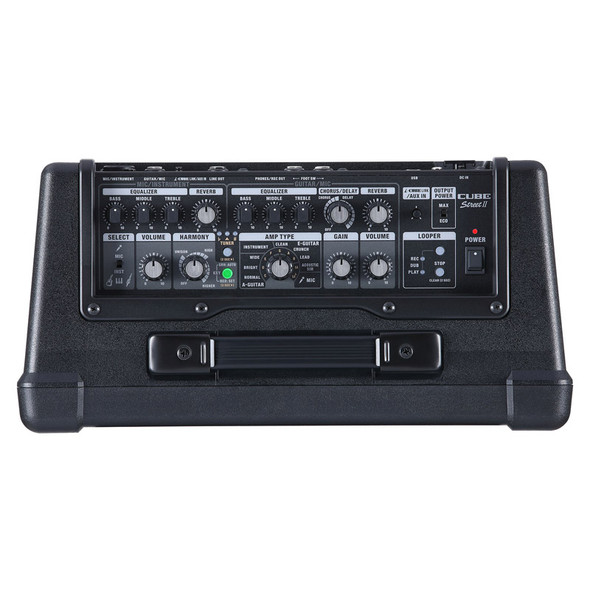 Boss Cube Street MKII Portable Amplifier, Black