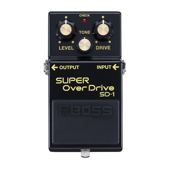 Boss SD-1 Super Overdrive Guitar Effects Pedal 40th Anniversary Model, LTD ED 2021