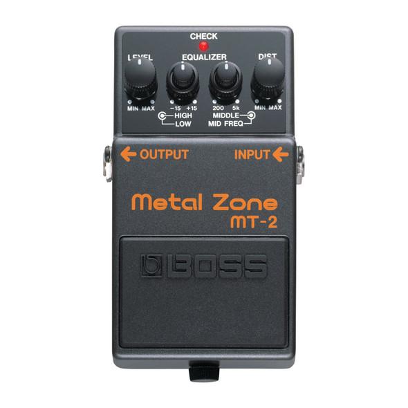 Boss MT-2 Metal Zone Guitar Effects Pedal 30th Anniversary, LTD ED 2021