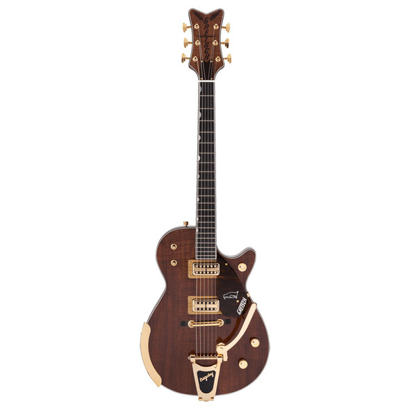 Gretsch G6134T-KOA LTD Penguin Electric Guitar, Natural w/Bigsby