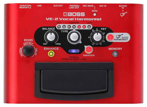 Boss VE-2 Vocal Harmonist Pedal  (as new)