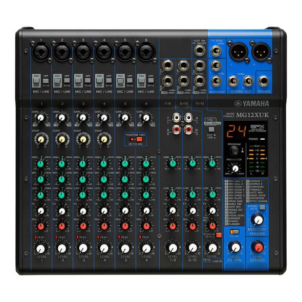 Yamaha MG12XUK Mixing Desk with FX and USB Interface