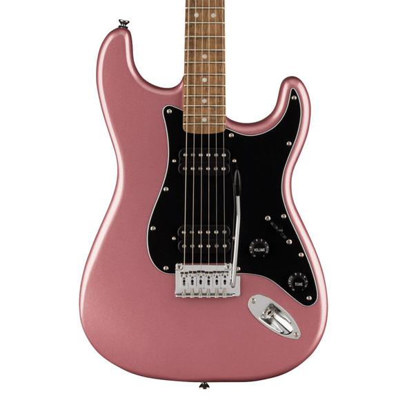 Fender Squier Affinity Stratocaster HH Electric Guitar, Burgundy Mist, Laurel Fingerboard