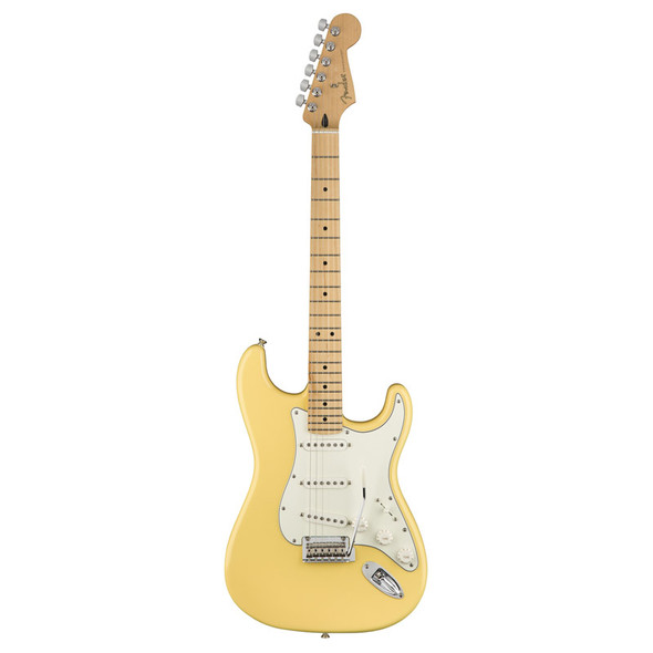 Fender Player Stratocaster Electric Guitar, Buttercream, Maple Neck (b-stock)