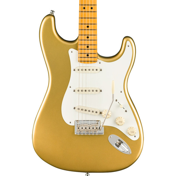 Fender Lincoln Brewster Stratocaster Electric Guitar, Aztec Gold, Maple (b-stock)