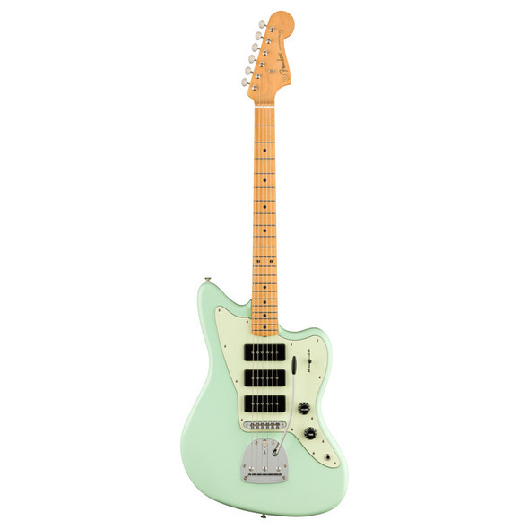 Fender Noventa Jazzmaster Electric Guitar, Surf Green, Maple Fingerboard  (b-stock)