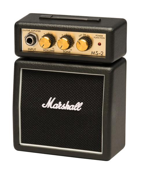 Marshall MS-2 Micro Stack Guitar Amp (Black) (ex-display)