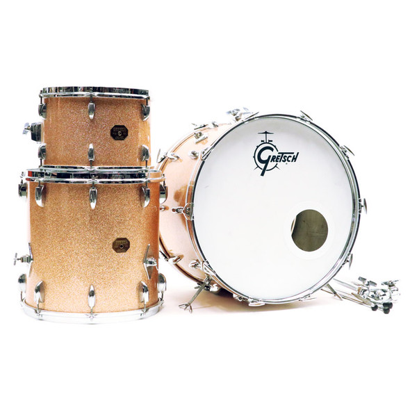 Gretsch 1970s SSB Shell Pack in Champagne Sparkle (pre-owned)