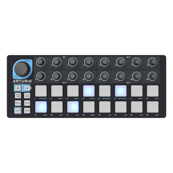 Arturia BeatStep Step Sequencer and Controller, Black Edition