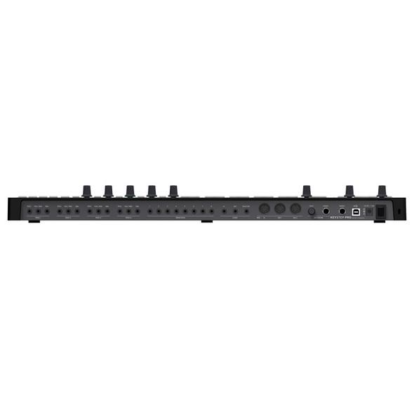 Arturia Keystep Pro Controller Keyboard/Polyphonic Sequencer, Black Edition