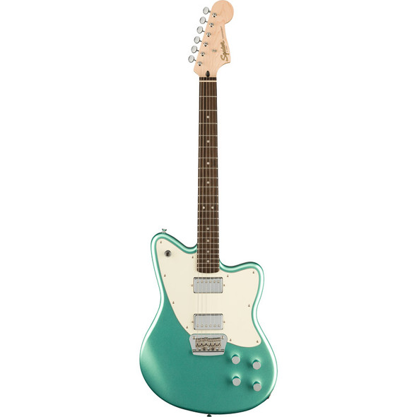 Fender Squier Paranormal Toronado Electric Guitar, Mystic Seafoam, Laurel