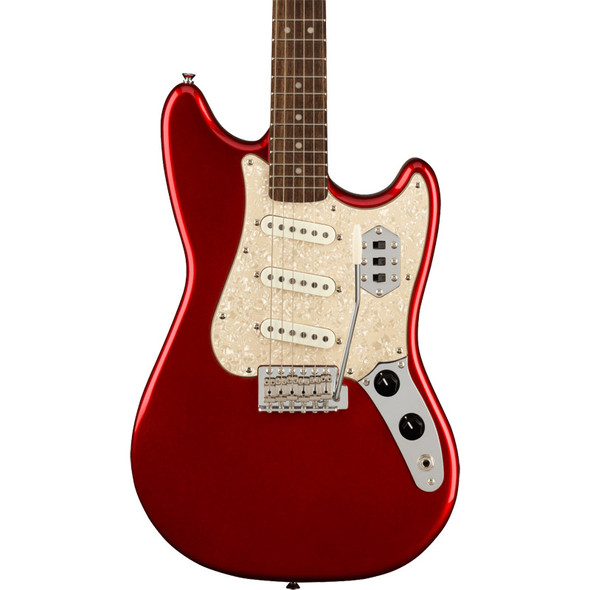 Fender Squier Paranormal Cyclone Electric Guitar, Candy Apple Red, Laurel