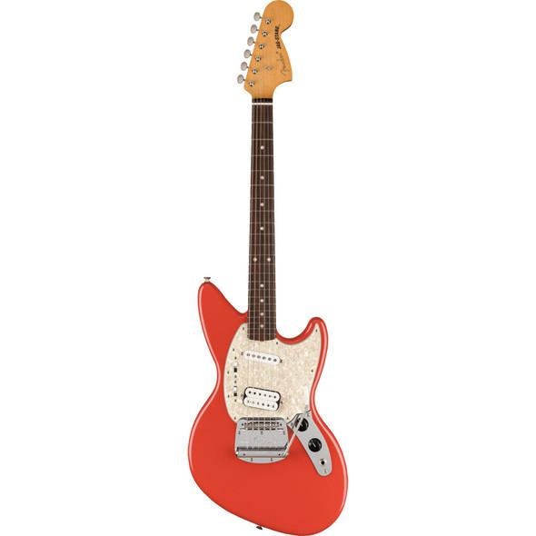 Fender Kurt Cobain Jag-Stang Electric Guitar, Fiesta Red, Rosewood