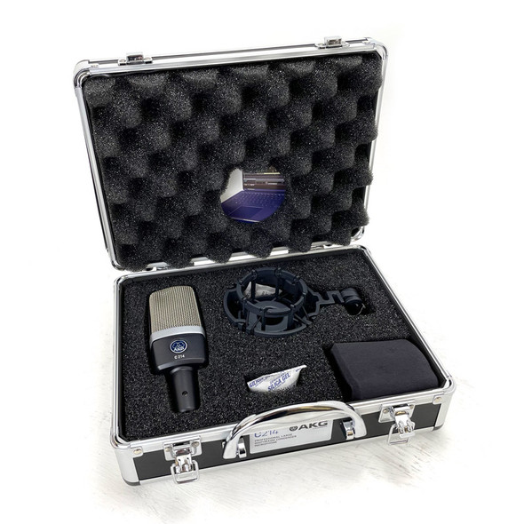 AKG C214 Large Diaphragm Condenser Microphone (b-stock)