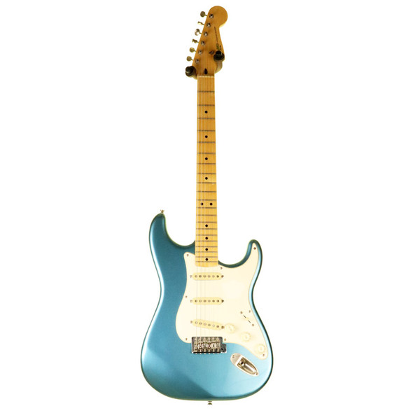 Fender Classic Vibe 50s Stratocaster Electric Guitar, Lake Placid Blue w Gig Bag (pre-owned)
