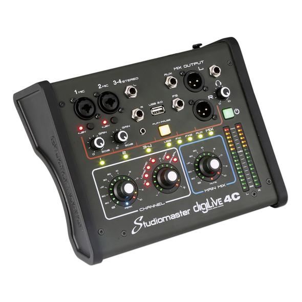 Studiomaster DigiLive 4C 4 Input Compact Digital Mixer