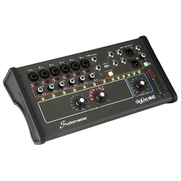 Studiomaster DigiLive 8C 8 Input Compact Digital Mixer