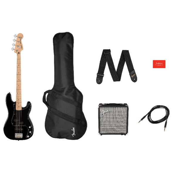 Fender Squier Affinity Series Precision Bass PJ Pack (Black)