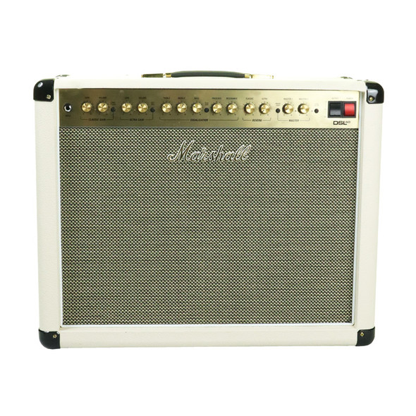 Marshall DSL40CRD Special 1x12 Valve Combo Guitar Amplifier, Cream (pre-owned)