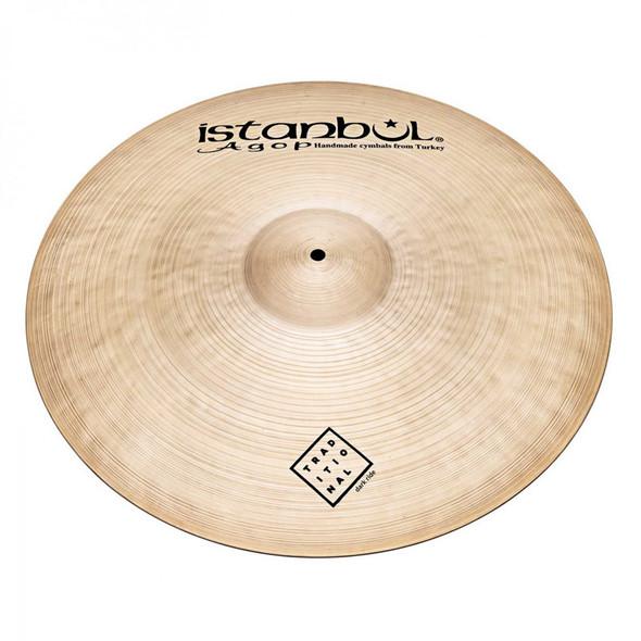 Istanbul Traditional 20 Inch Dark Ride Cymbal