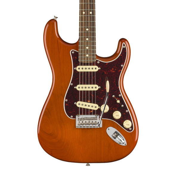 Fender Player Stratocaster Electric Guitar, Aged Natural, Pau Ferro