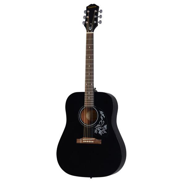 Epiphone Starling Acoustic Player Pack, Black (Inc Gig Bag, Strap, Tuner & Plectrums)