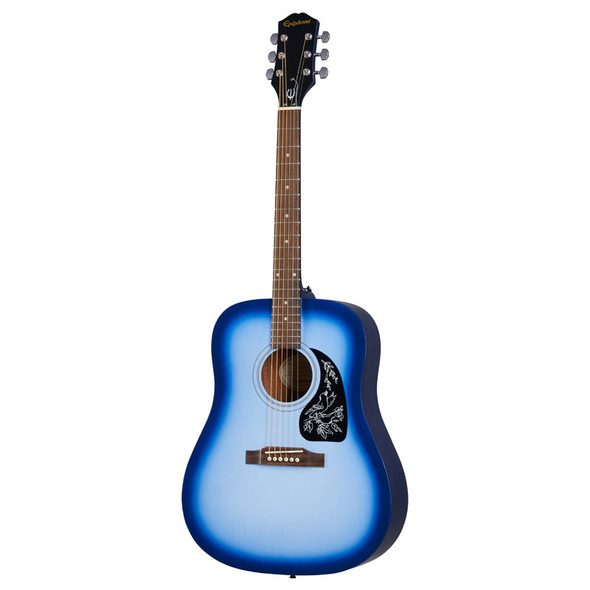 Epiphone Starling Acoustic Player Pack, Starlight Blue (Inc Gig Bag, Strap, Tuner & Plectrums)