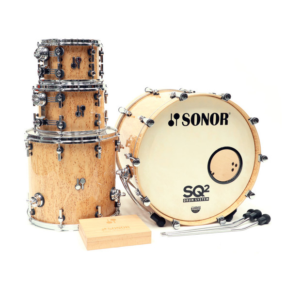 Sonor SQ2 Maple Shell Pack in Scandinavian Birch Finish (pre-owned)