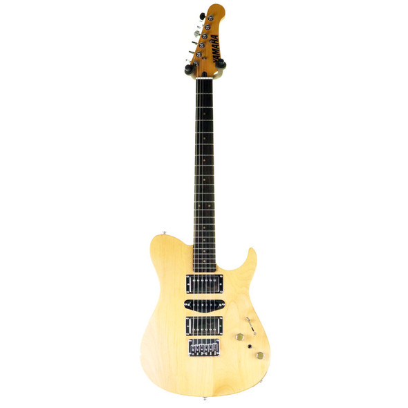 Yamaha 120SD Electric Guitar HSH, Natural w Gig Bag (pre-owned)