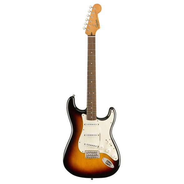 Fender Squier Classic Vibe 60s Stratocaster, 3 Tone Sunburst, Laurel Neck