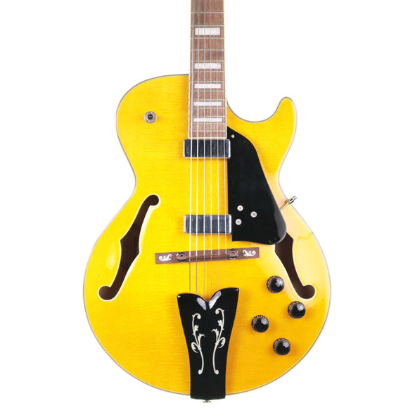 Ibanez GB10EM-AA George Benson Antique Electric Guitar, Amber w Case (pre-owned)