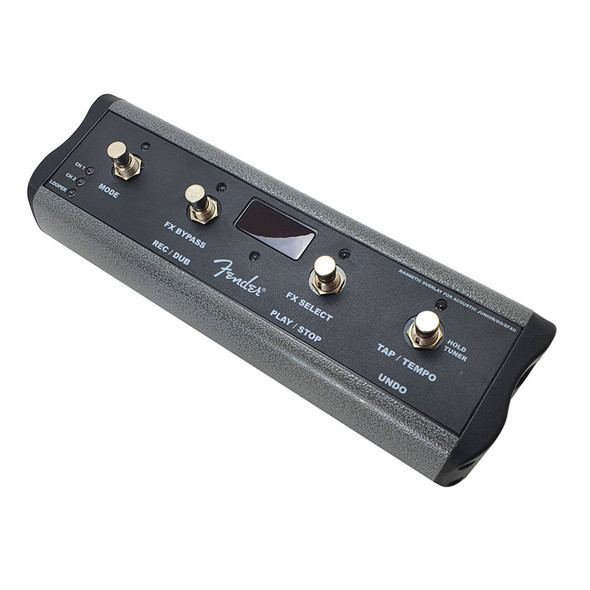 Fender MGT-4 Footswitch for Mustang GT Amps / Junior / GO includes Magnetic Overlay (pre-owned)