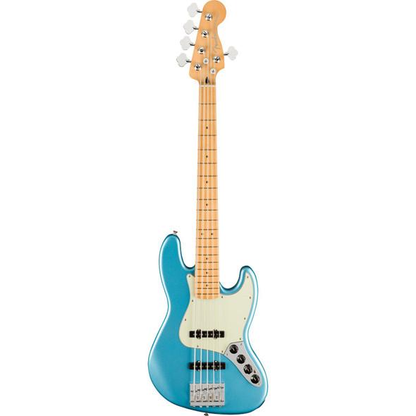 Fender 5-String Player Plus Jazz Bass V, Opal Spark, Maple