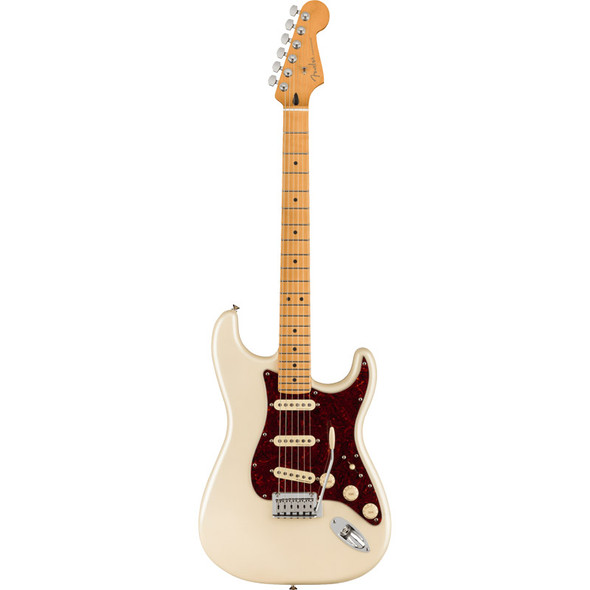 Fender Player Plus Stratocaster Electric Guitar, Olympic Pearl, Maple