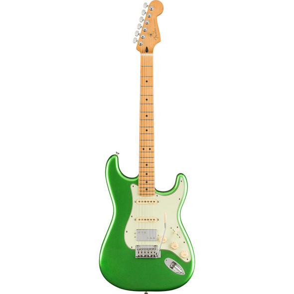 Fender Player Plus Stratocaster HSS Electric Guitar, Cosmic Jade, Maple