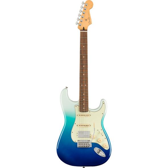 Fender Player Plus Stratocaster Electric Guitar HSS, Belair Blue, Pau Ferro
