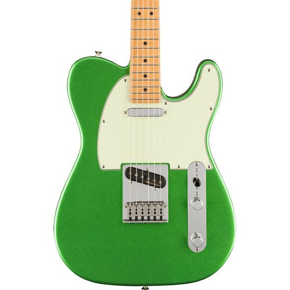 Fender Player Plus Telecaster Electric Guitar, Cosmic Jade, Maple