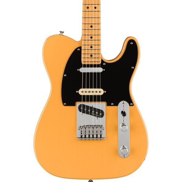 Fender Player Plus Nashville Telecaster Electric Guitar, Butterscotch Blonde, Maple