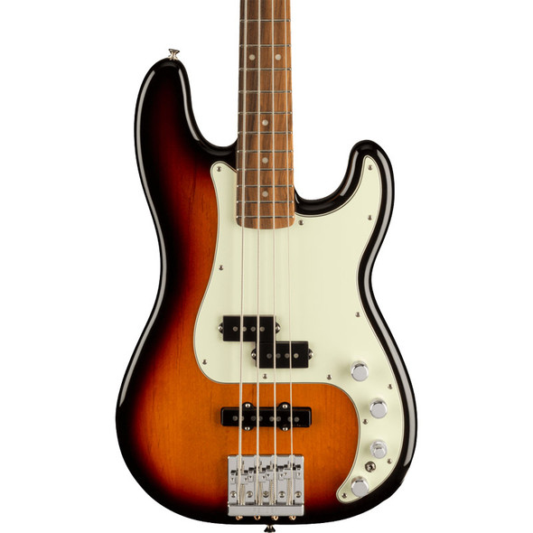Fender Player Plus Precision Bass, 3-Colour Sunburst, Pau Ferro