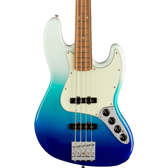 Fender Player Plus Jazz Bass, Belair Blue, Pau Ferro